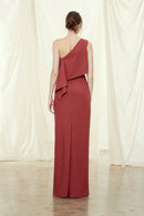 Amsale Long Bridesmaid Dress Liana