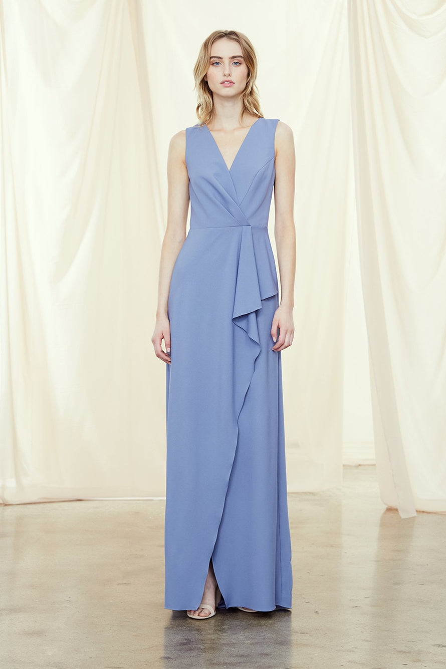 Amsale Long Bridesmaid Dress Sabrina
