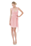 Joanna August Bridesmaid Cocktail Dress Lacey -prettyinpink