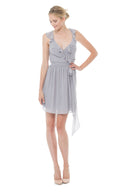 Joanna August Bridesmaid Cocktail Dress Lacey -silverbells