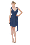 Joanna August Bridesmaid Cocktail Dress Lacey -tangledupinblue