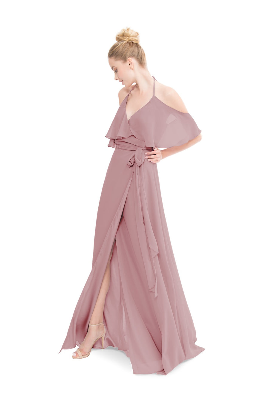 Dusty Rose Bridesmaid dress