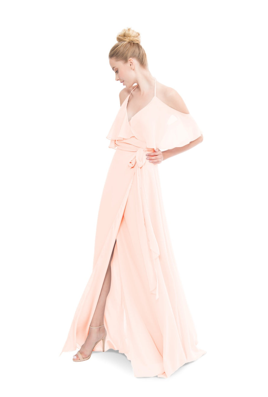 Joanna August Long Bridesmaid Dress Lauren
