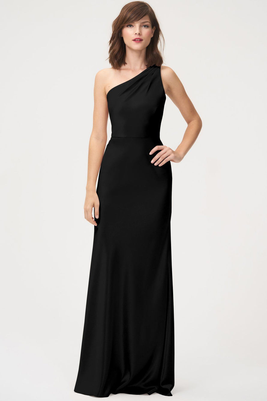 Jenny Yoo Long Bridesmaid Dress Lena