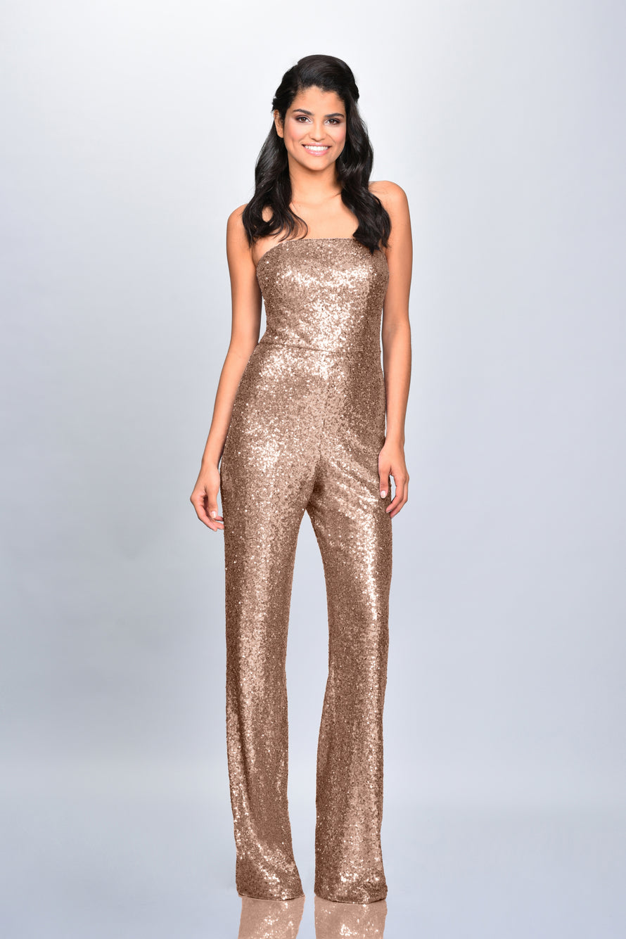 Theia Bridesmaid Jumpsuit Georgie