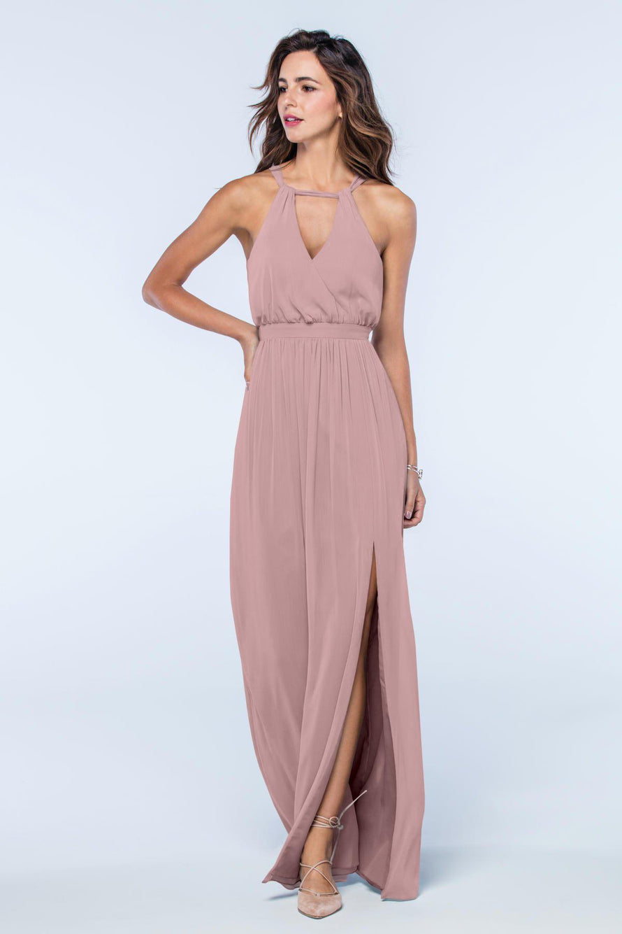 Watters Dress Fleurette morganite