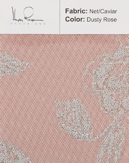 dusty-rose-color-net-caviar-fabric