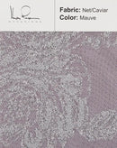mauve-color-net-caviar-fabric