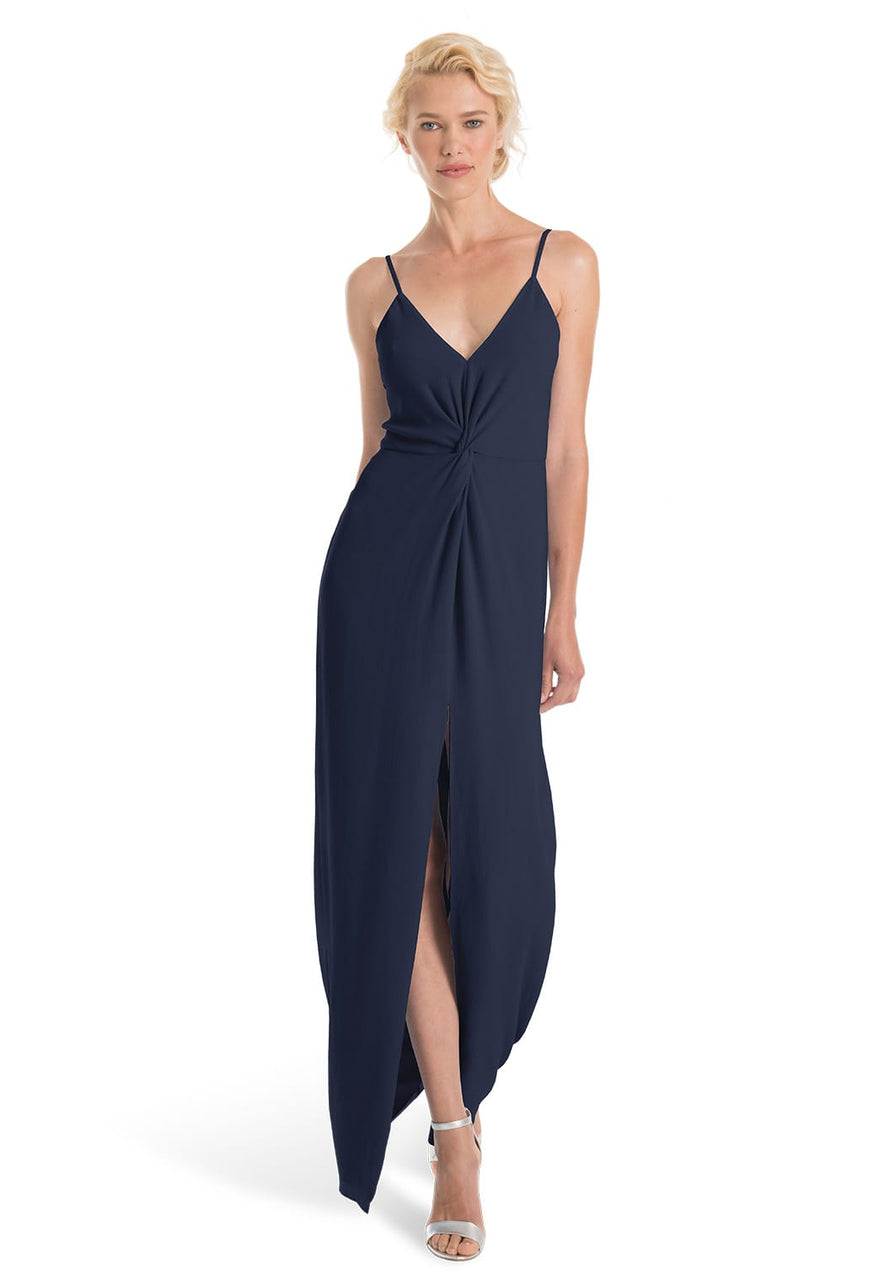 Joanna August Bridesmaid Long Dress Estelle-Navy