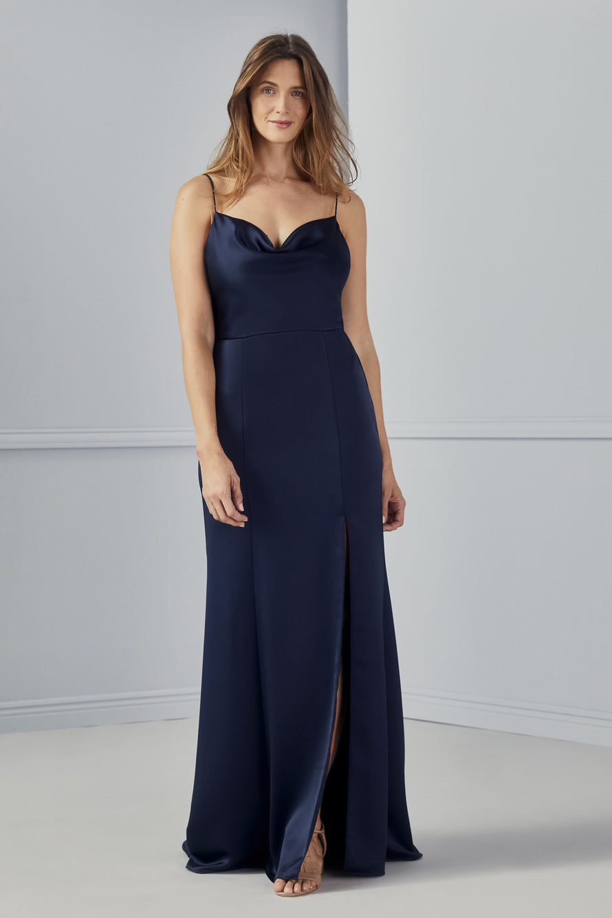 Amsale Long Bridesmaid Dress Chloe