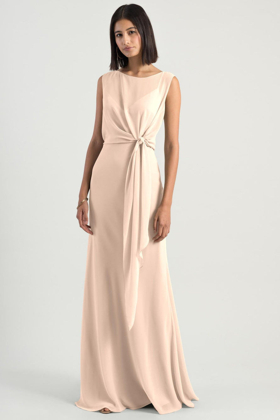 Jenny Yoo Long Bridesmaid Dress Paltrow