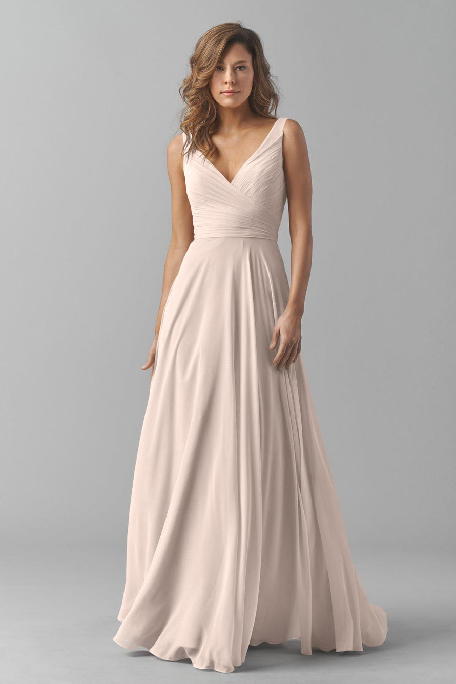 Watters Bridesmaid Dress Karen Pink Tulip