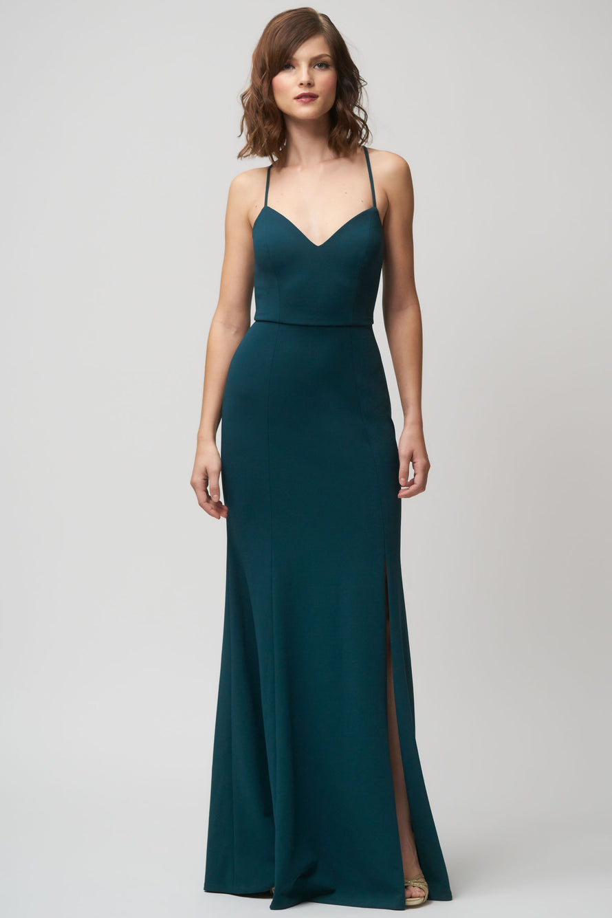 Jenny Yoo Long Bridesmaid Dress Reese