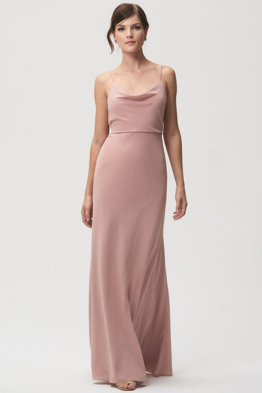 Jenny Yoo Bridesmaid Dress Capri Whipped Apricot