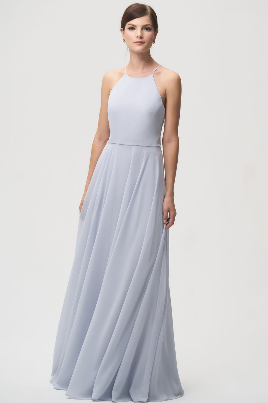 Jenny Yoo Long Bridesmaid Dress Luca