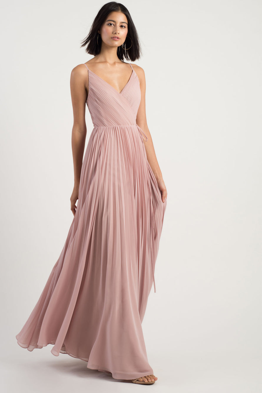 Jenny Yoo Long Bridesmaid Dress Kimi