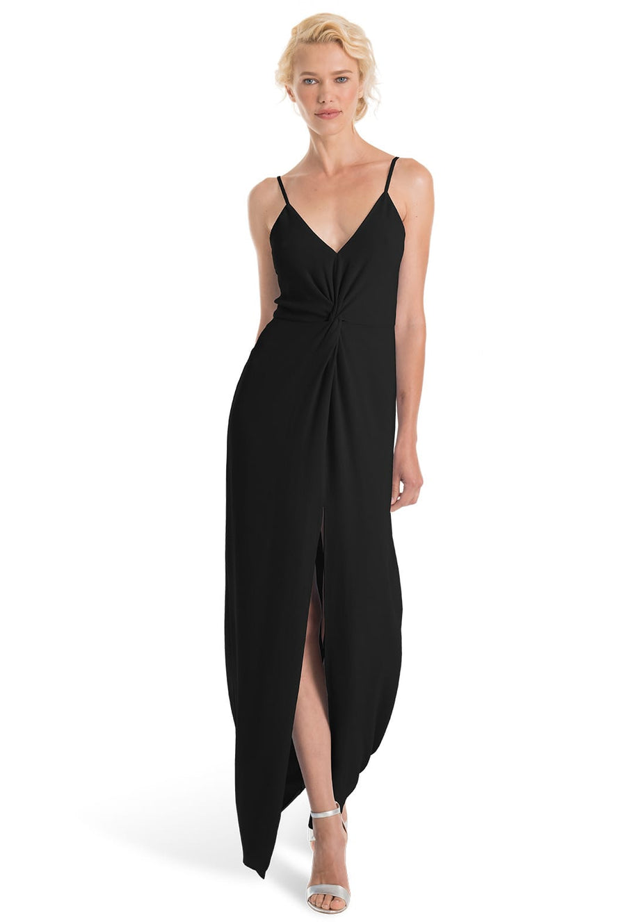 Joanna August Bridesmaid Long Dress Estelle-Onyx