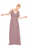 Joanna August Long Bridesmaid Dress Rebecca Brown
