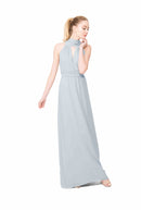 Joanna August Long Bridesmaid Dress Riggs