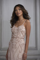 Adrianna Papell Platinum Bridesmaid Dress Style 40121