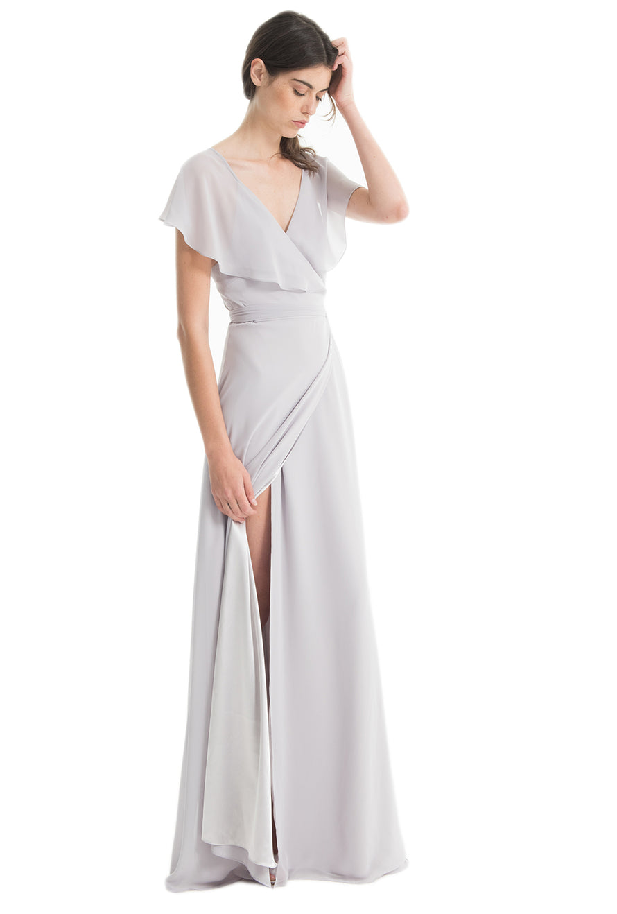 Joanna August Bridesmaid Dress Sage