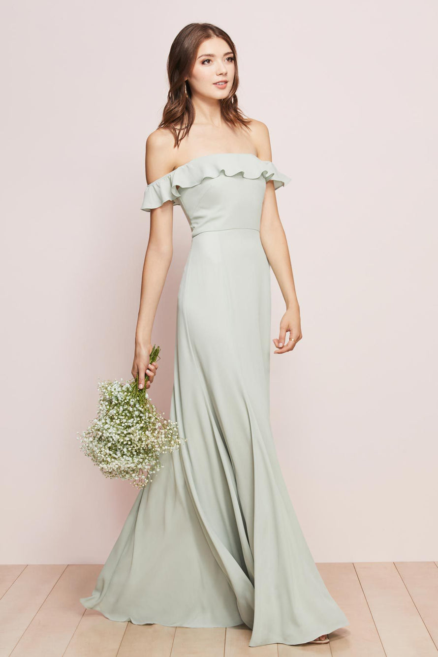 Wtoo by Watters Bridesmaid Dress Isabella front