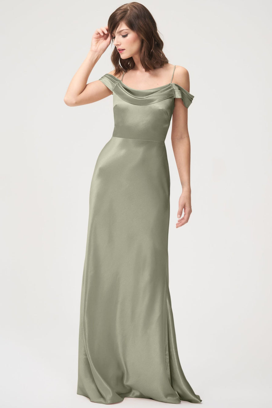 Jenny Yoo Long Bridesmaid Dress Serena
