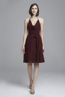 Amsale Short Bridesmaid Dress Doria