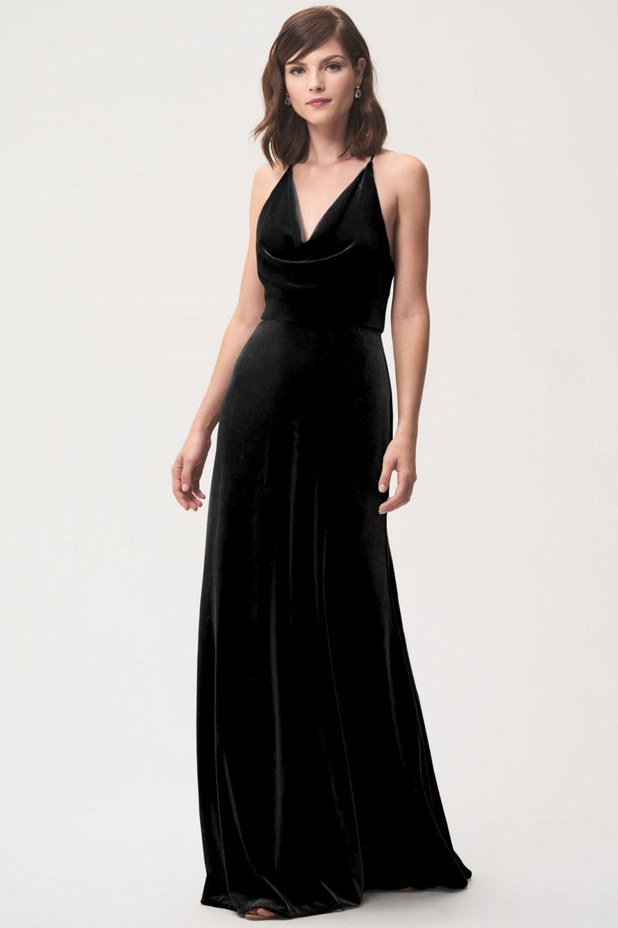 Jenny Yoo Long Bridesmaid Dress Sullivan
