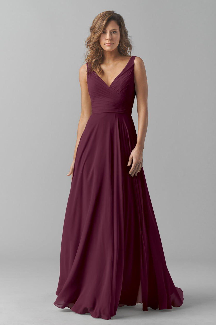 Watters Bridesmaid Dress Karen Wine