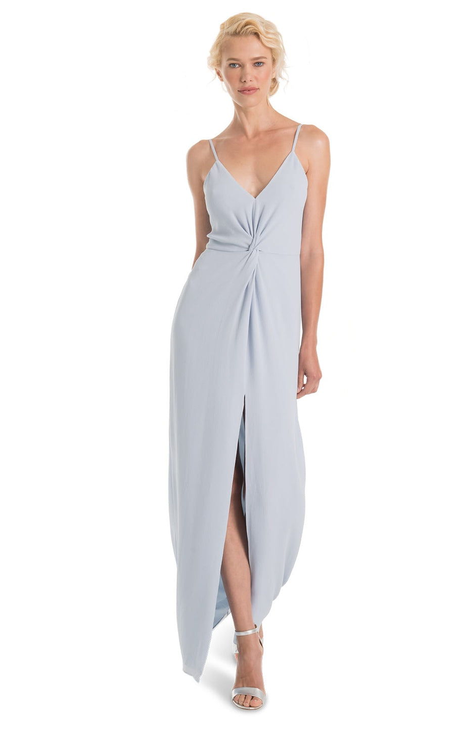 Joanna August Bridesmaid Long Dress Estelle-Whisper Blue
