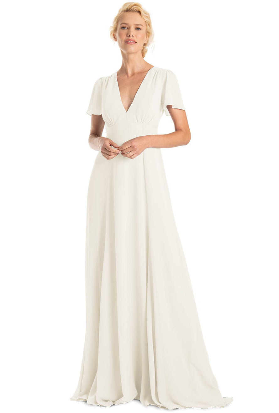 Joanna August Bridesmaid Long Dress Alice-chiffon