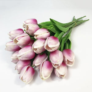 Artificial Tulip flowers. ($0.99 Price per head).