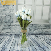 Load image into Gallery viewer, 10 Tulip heads (Artificial Flowers).