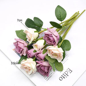 1 Bouquet Artificial Rose Flower