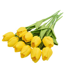 Load image into Gallery viewer, 10 head bouquet Tulip Artificial Flower