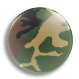 Bush Camo 25mm Badge