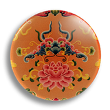 Floral 2, 25mm Badge