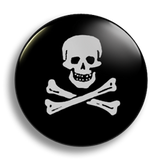 Edward England Pirate 25mm Badge