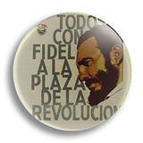 Fidel Castro 25mm Badge