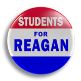 Students for Reagan 25mm Badge