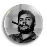 Che Cigar 25mm Badge