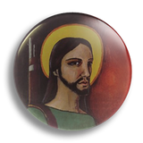 Jesus Freedom Fighter 25mm Badge