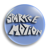Sparkle Motion 25mm Badge