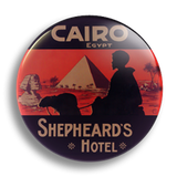 Cairo Luggage Label 25mm Badge
