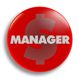Manager 25mm Badge