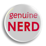 Genuine Nerd 25mm Badge