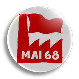 May '68 25mm Badge