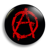 Anarchy 25mm Badge