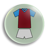 The Hammers 25mm Badge